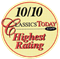 CLASSICS TODAY 10/10 HIGHEST RATING